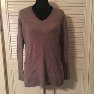 J.Crew black label v-neck sweater